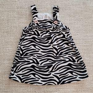 Carter's Baby Girl Zebra Dress